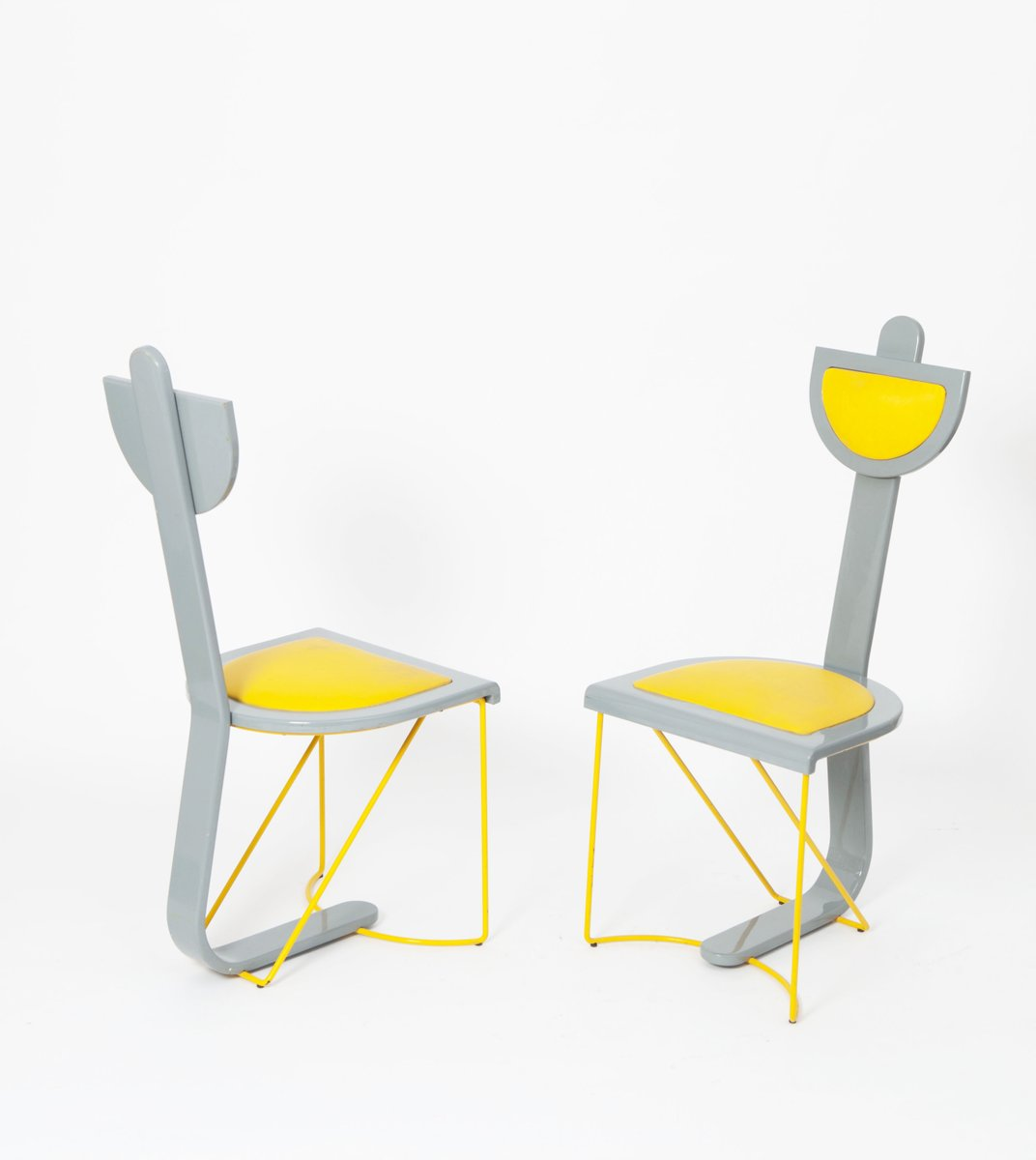 Grey And Yellow Accent Chair ...