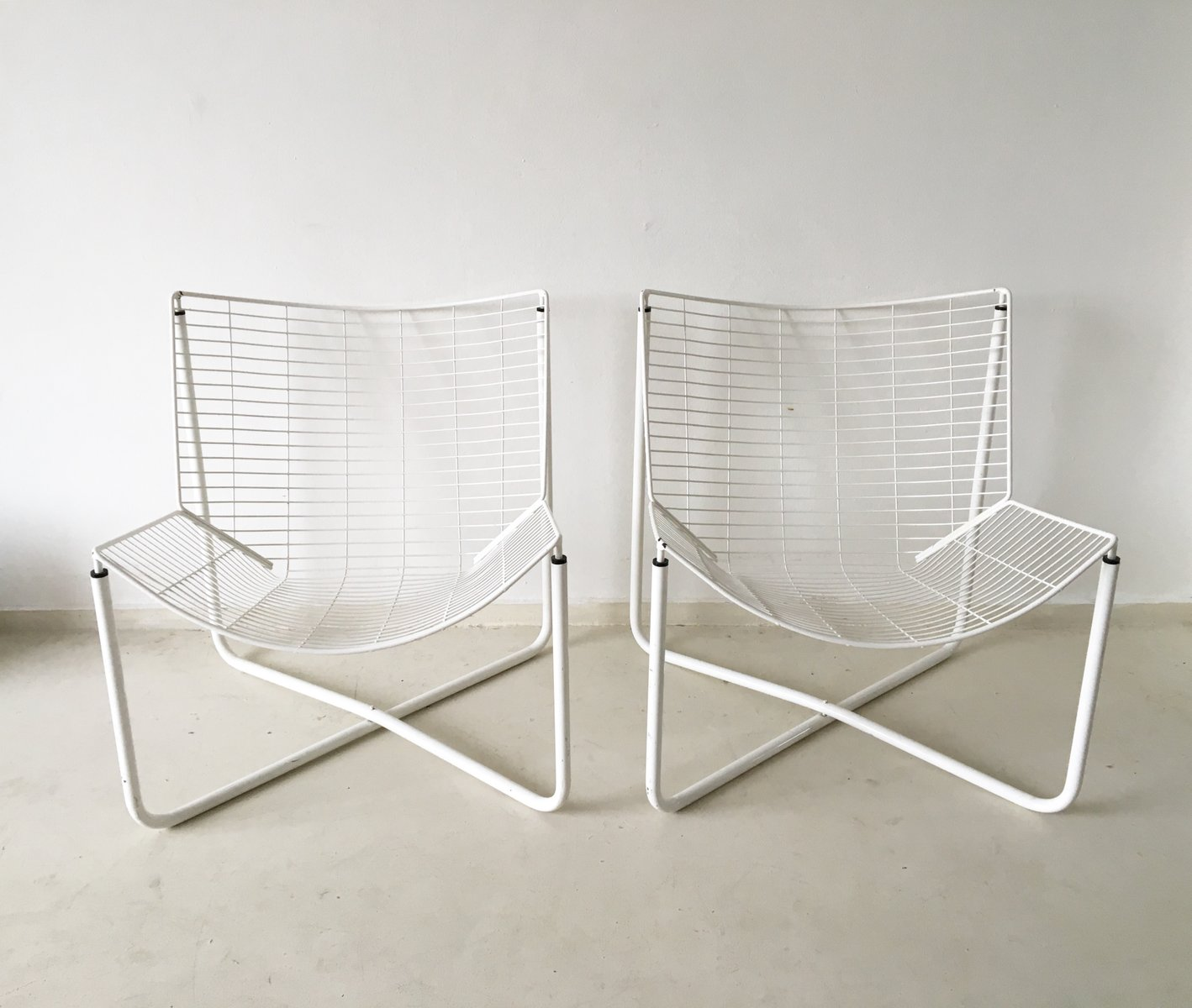 jarpen wire chair by niels gammelgaard for ikea 1983 for