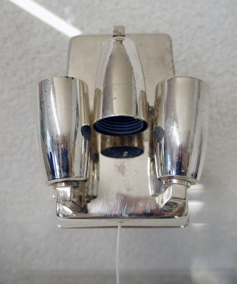 Mid-Century Crystal Glass Wall Sconces from Bakalowits & Sohne, Set of 2 for sale at Pamono