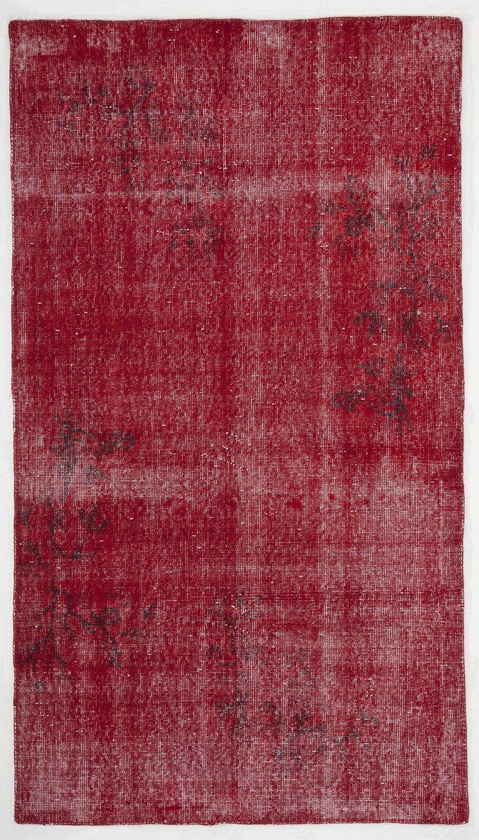 roter berf rbter teppich 1960er bei pamono kaufen. Black Bedroom Furniture Sets. Home Design Ideas