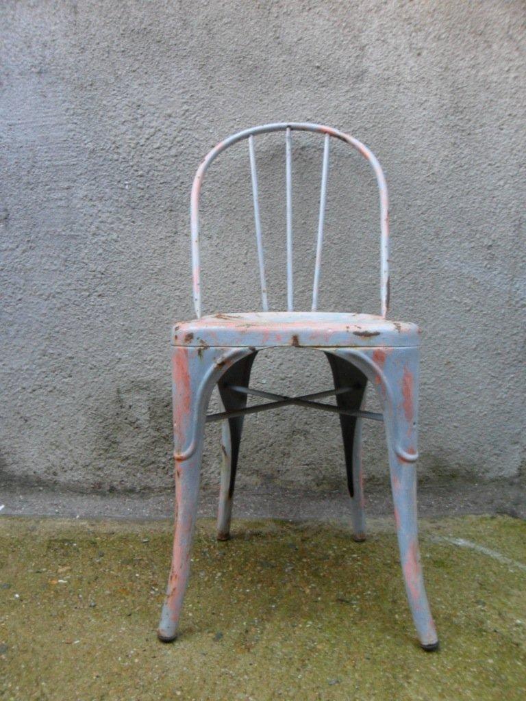 Chaise b par xavier pauchard pour tolix france 1930s en for Chaise xavier pauchard