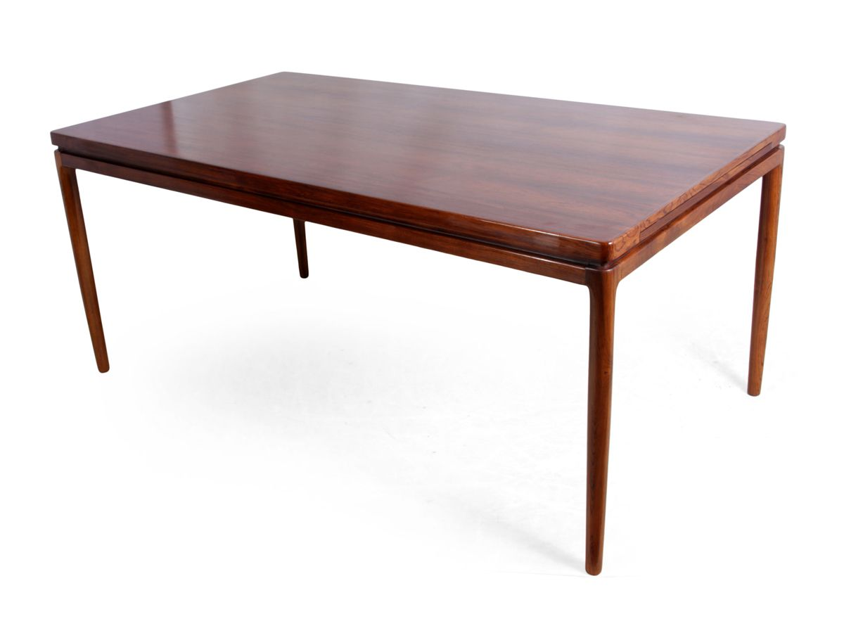 Rosewood Dining Table Mid Century Danish Rosewood Dining Table From Christian Linneberg