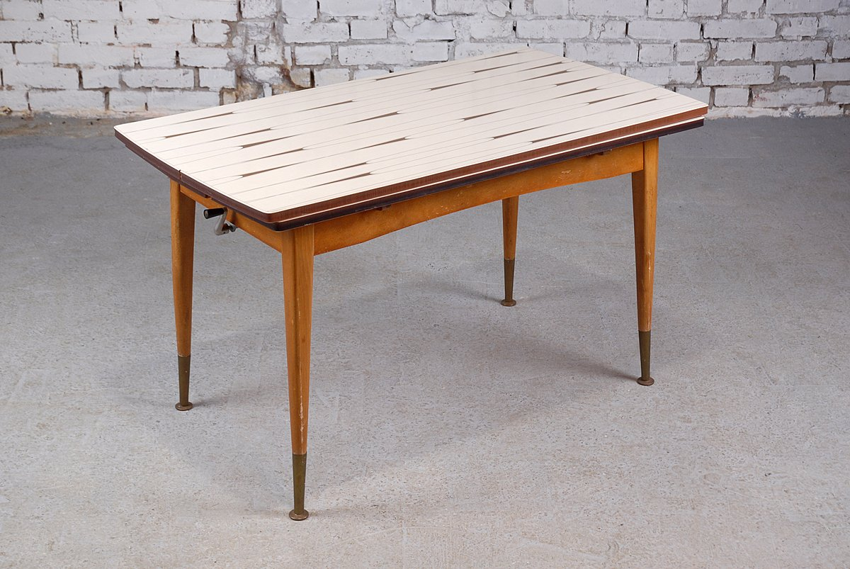 table ajustable bois. Black Bedroom Furniture Sets. Home Design Ideas