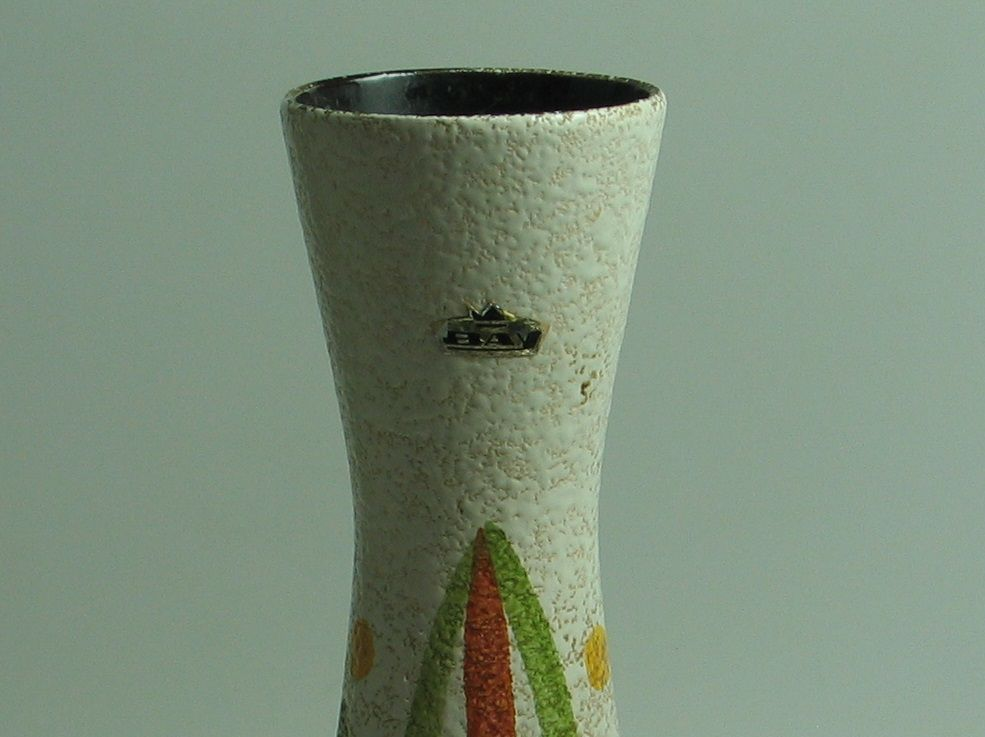 Mid Century German Vase from Bay Keramik for sale at Pamono