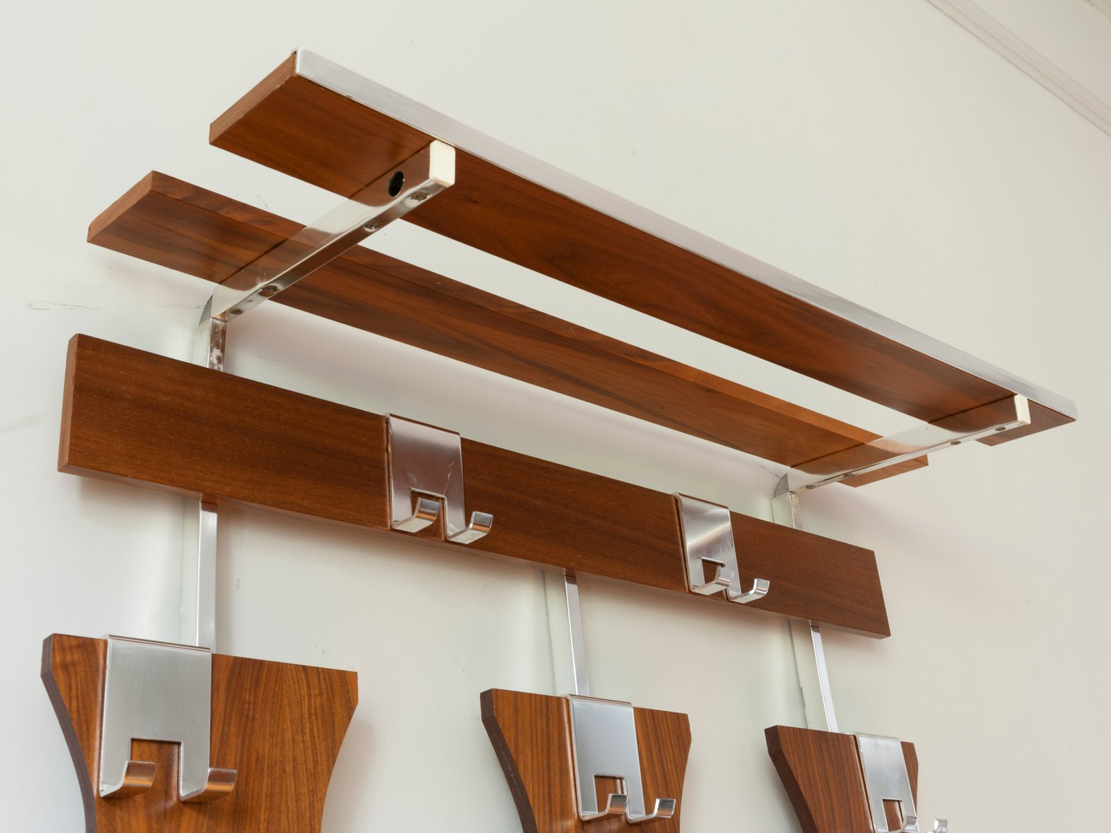German Wall Mounted Coat Rack For Sale At Pamono