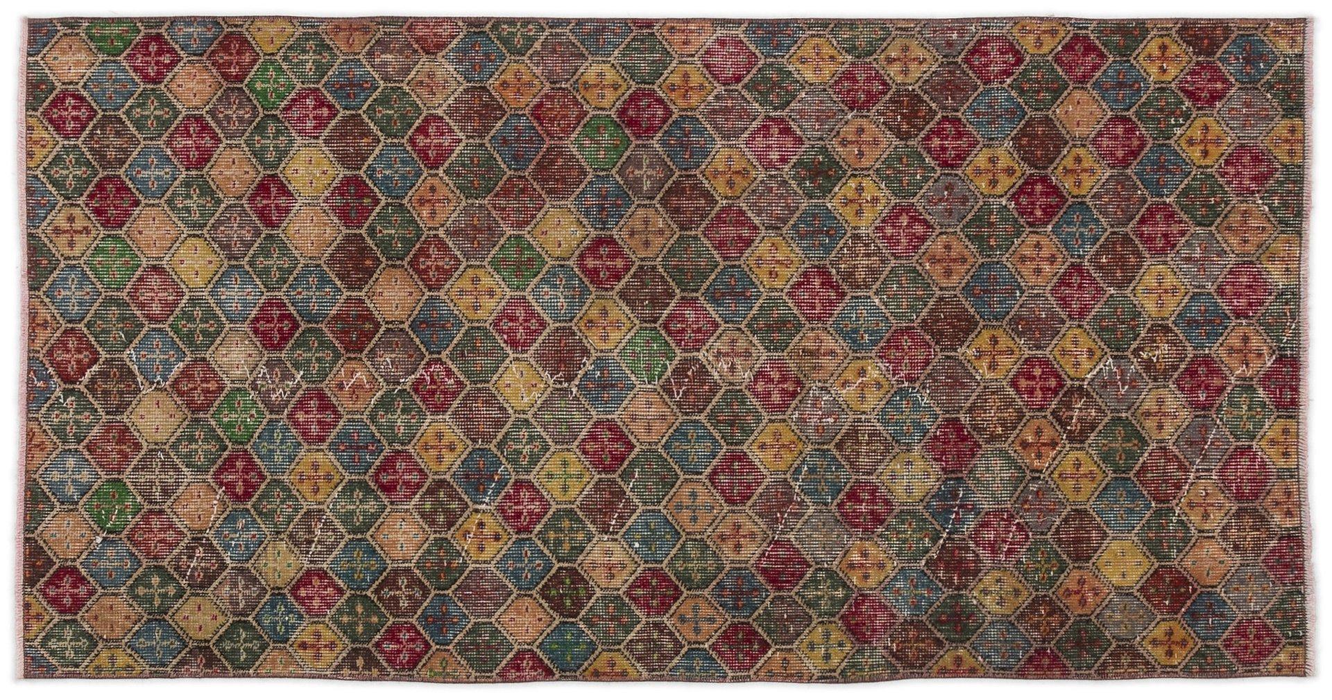 bunter berf rbter teppich 1960er bei pamono kaufen. Black Bedroom Furniture Sets. Home Design Ideas