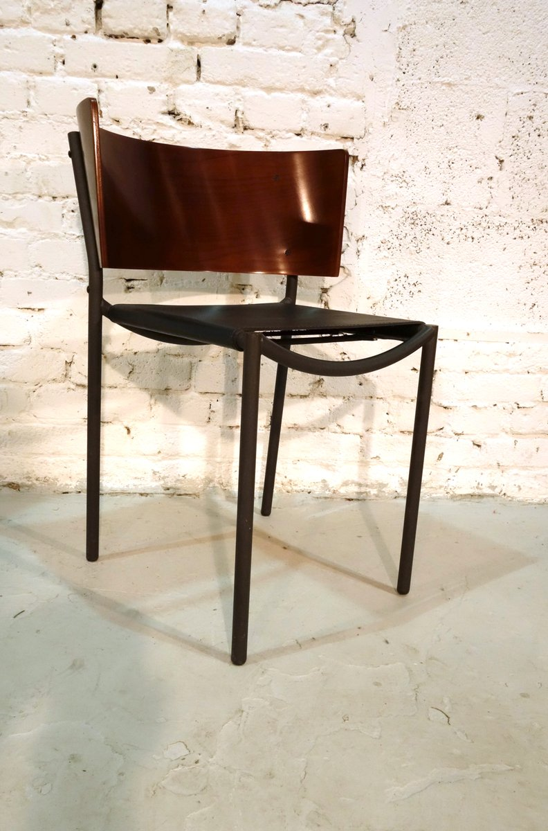 lila hunter chairs by philippe starck for xo 1988 set of 8 for sale at pamono. Black Bedroom Furniture Sets. Home Design Ideas