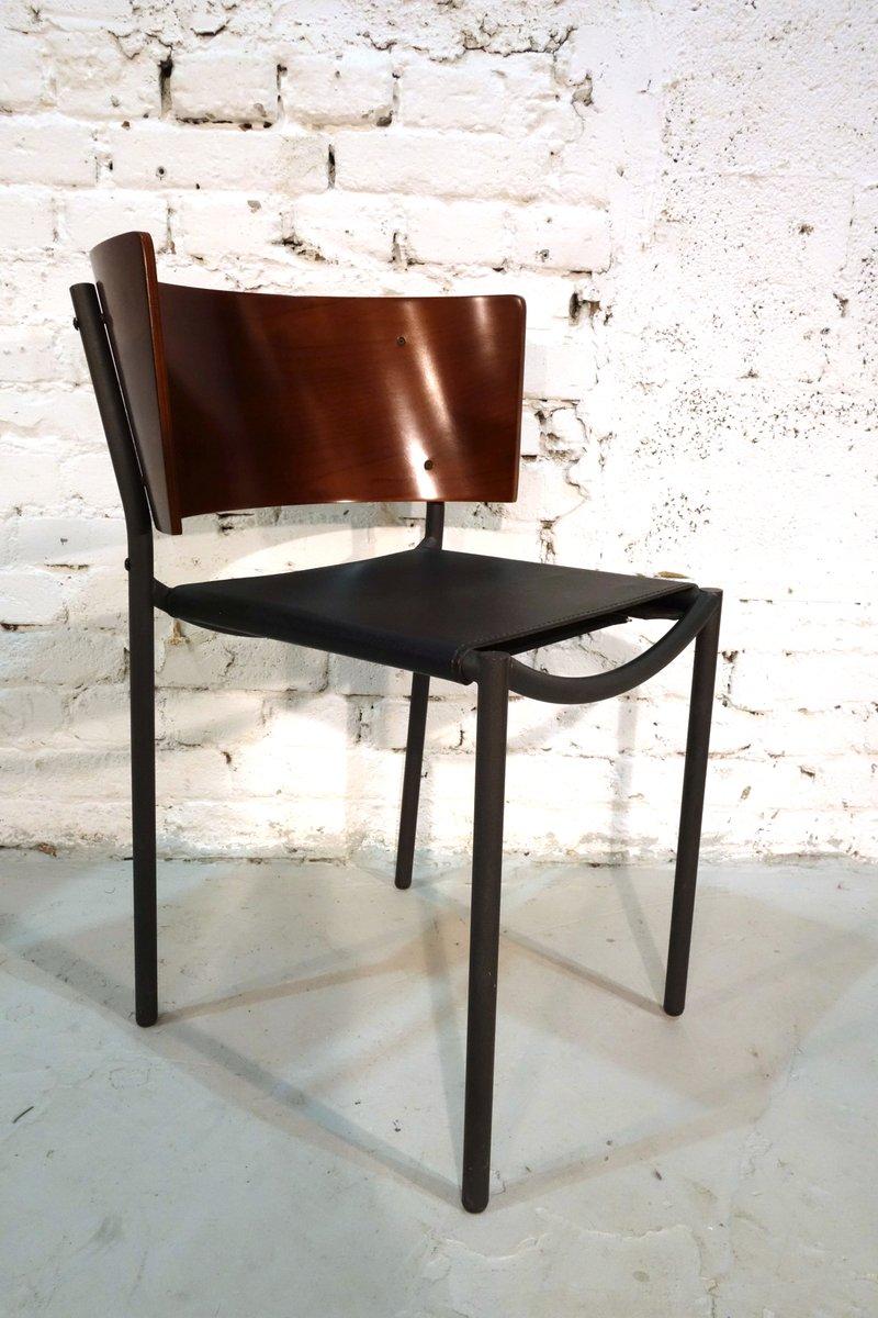 lila hunter st hle von philippe starck f r xo 1988 4er. Black Bedroom Furniture Sets. Home Design Ideas