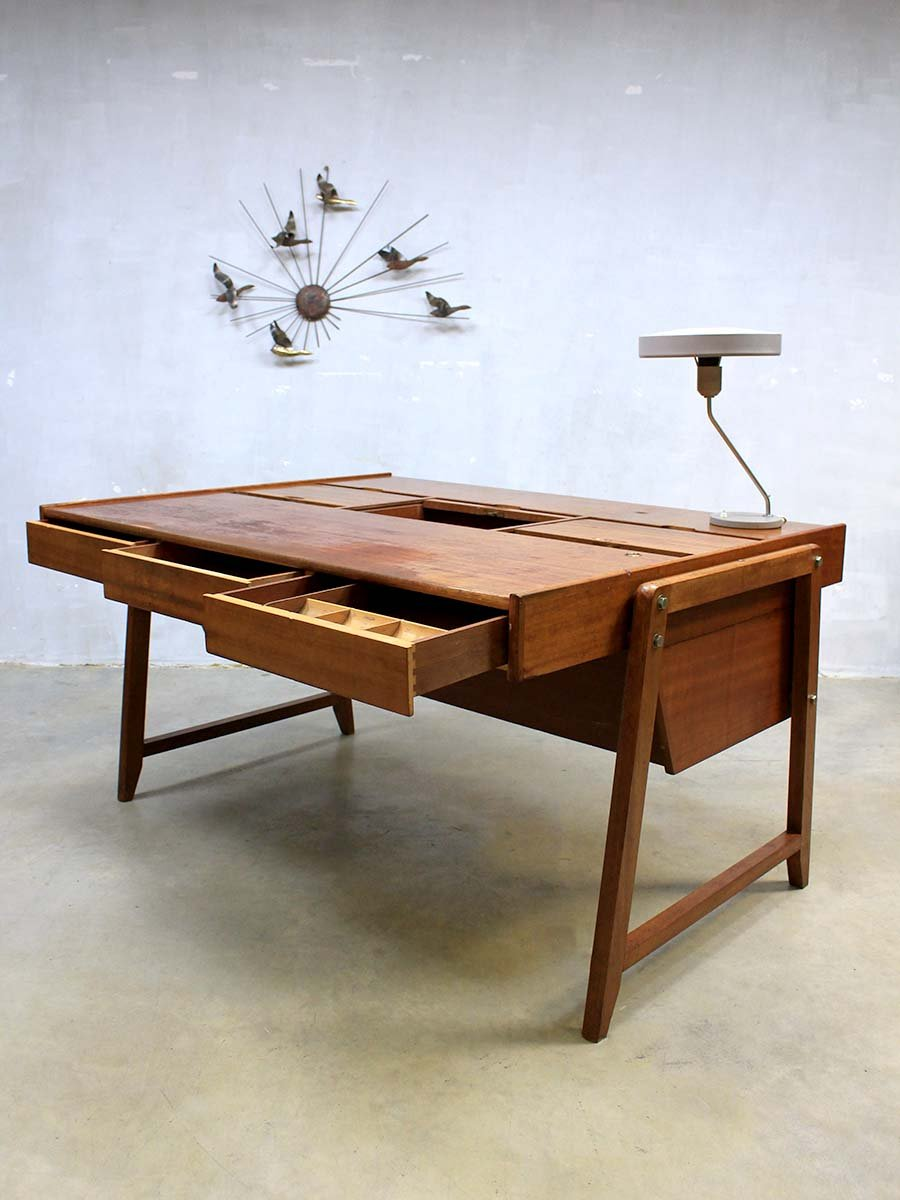 Mid Century Desk by Clausen Maerus for Eden for sale at Pamono