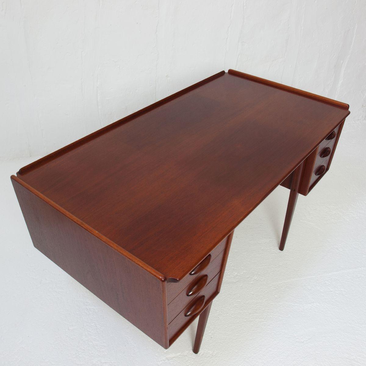 pl uddebo mahagoni schreibtisch von svante skogh f r aktiebolaget m belfabriken 1960er bei. Black Bedroom Furniture Sets. Home Design Ideas