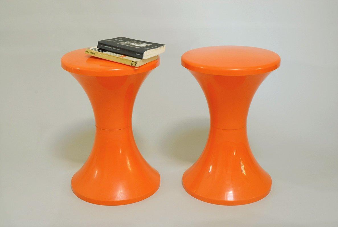 tabouret tam tam par henry massonnet pour stamp france 1970s en vente sur pamono. Black Bedroom Furniture Sets. Home Design Ideas