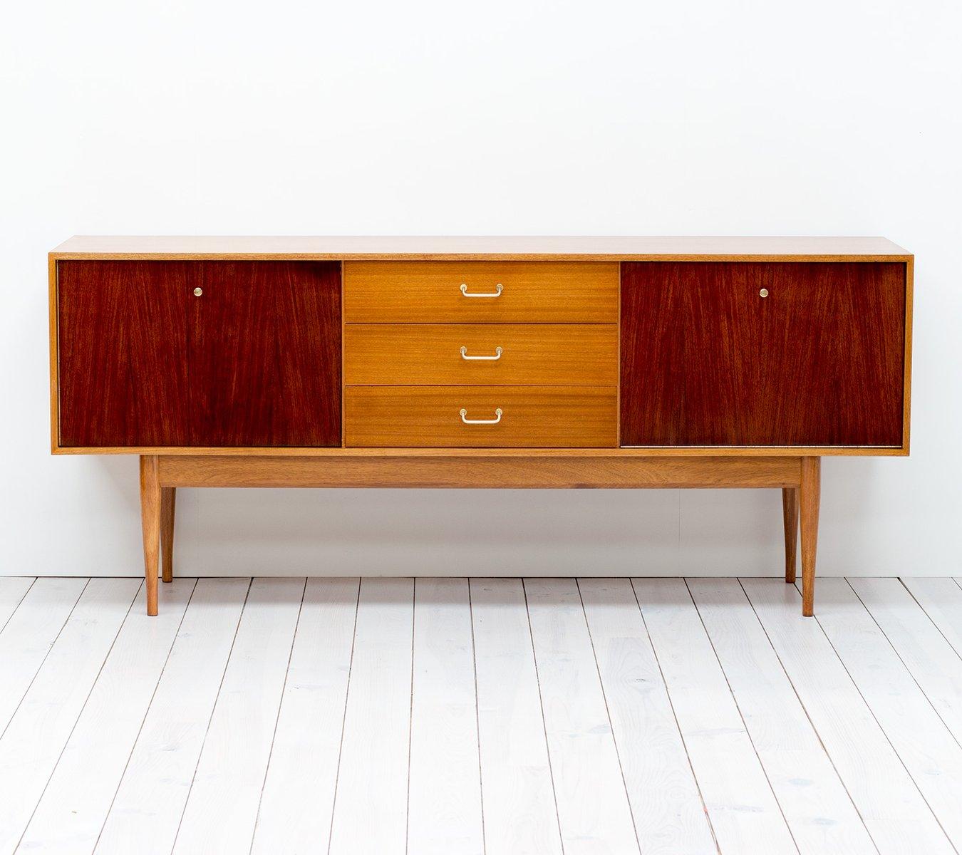 teak palisander sideboard von uniflex bei pamono kaufen. Black Bedroom Furniture Sets. Home Design Ideas