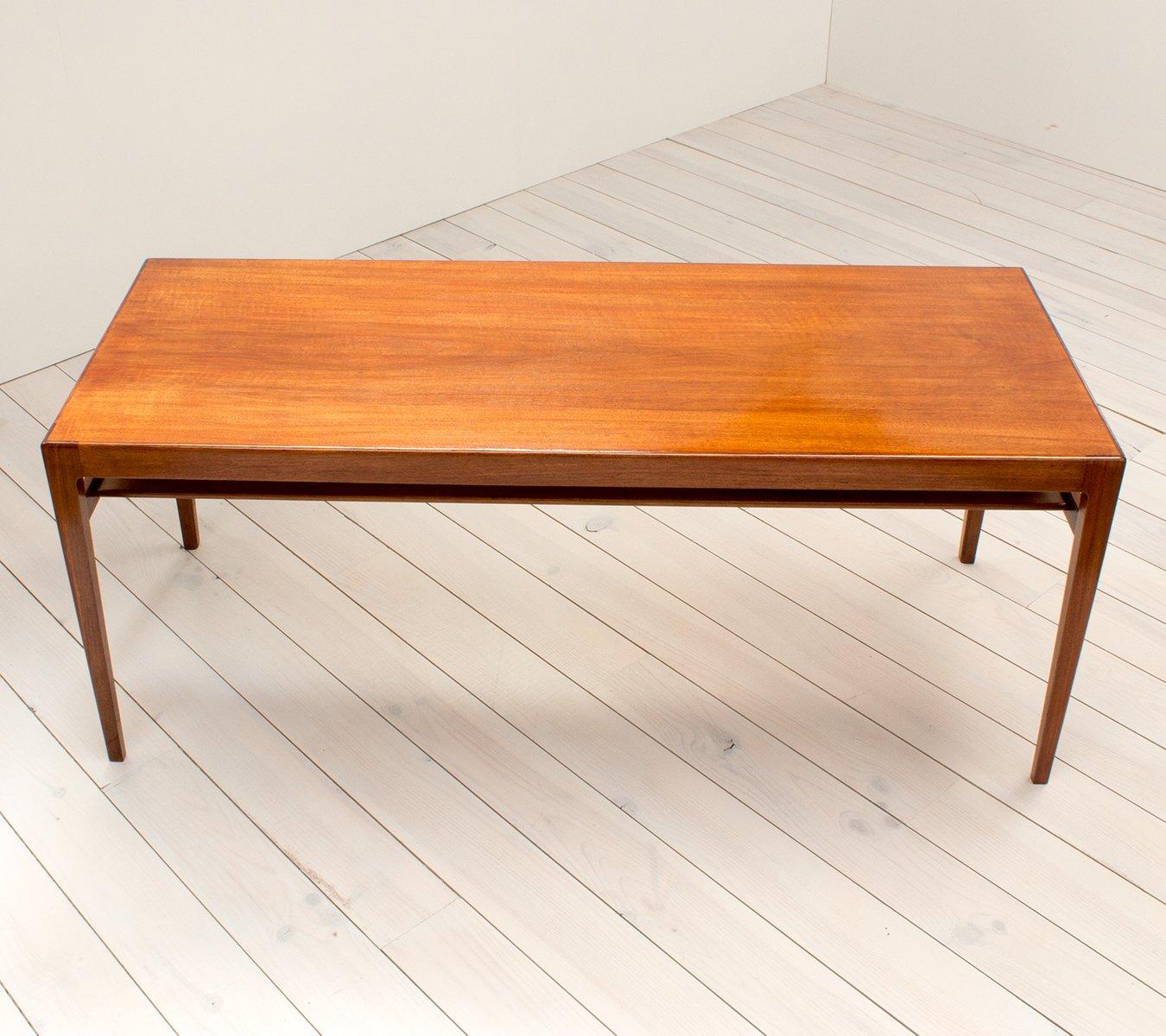 Danish Rosewood Coffee Table From Ludvig Pontoppidan, 1960s