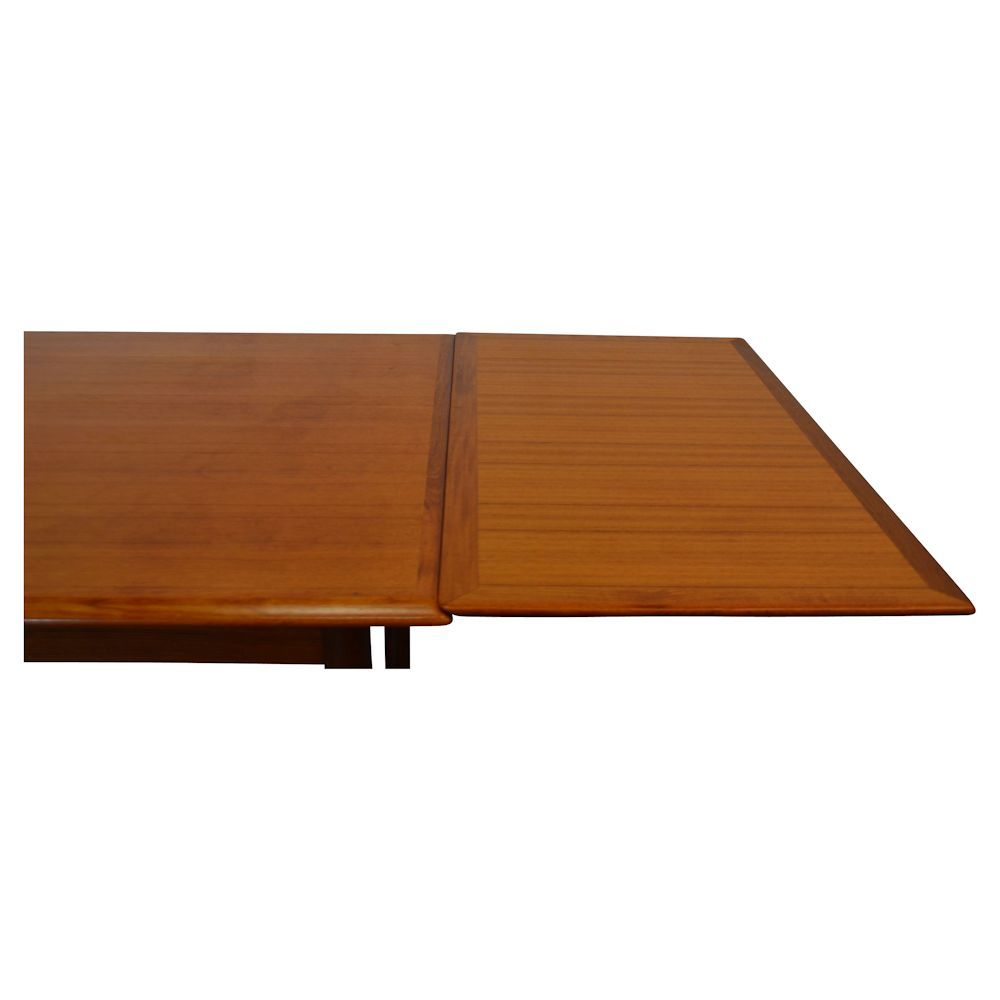 Mid Century Vintage Danish Teak Extendable Dining Table