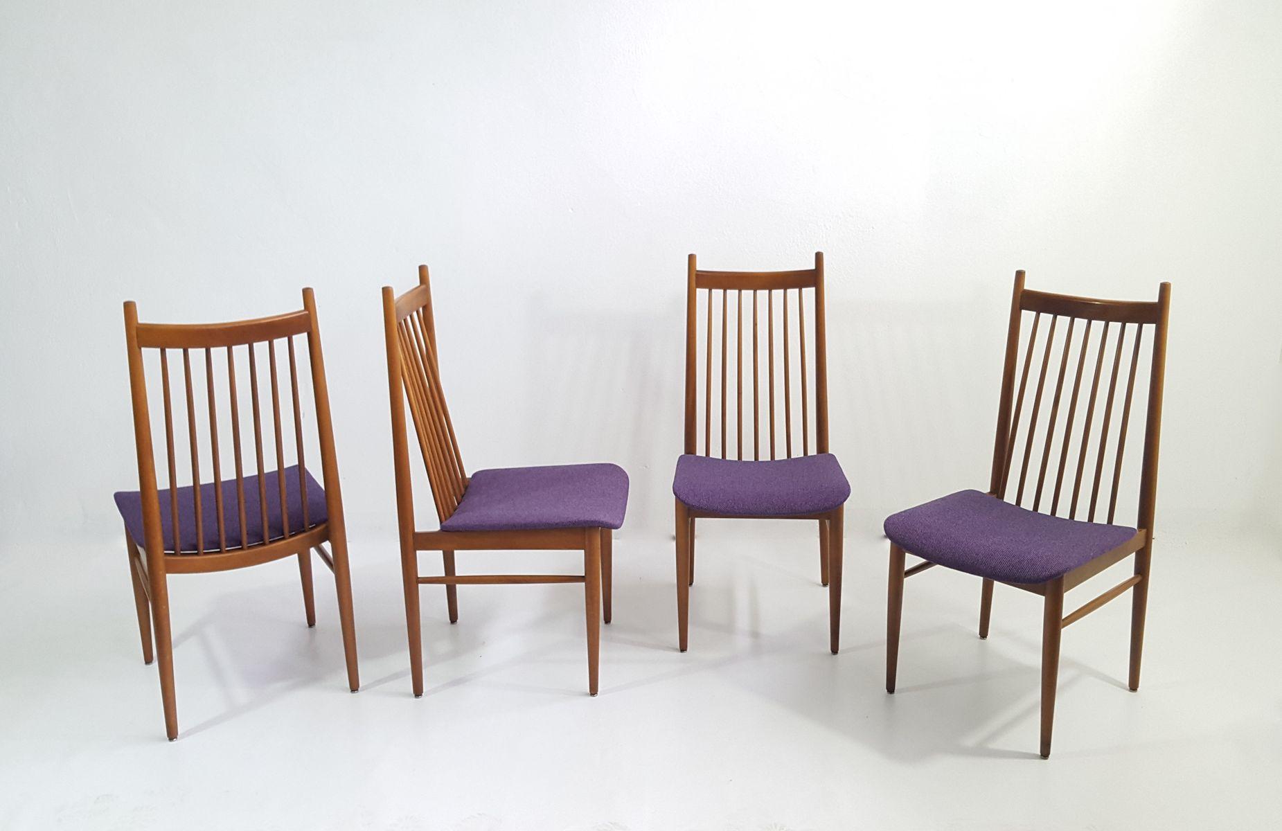 skandinavische teak st hle 1960er 4er set bei pamono kaufen. Black Bedroom Furniture Sets. Home Design Ideas