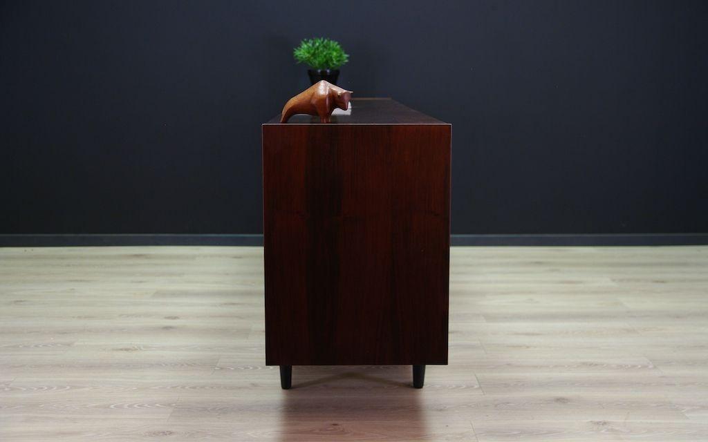 d nisches vintage palisander sideboard mit schiebet ren. Black Bedroom Furniture Sets. Home Design Ideas