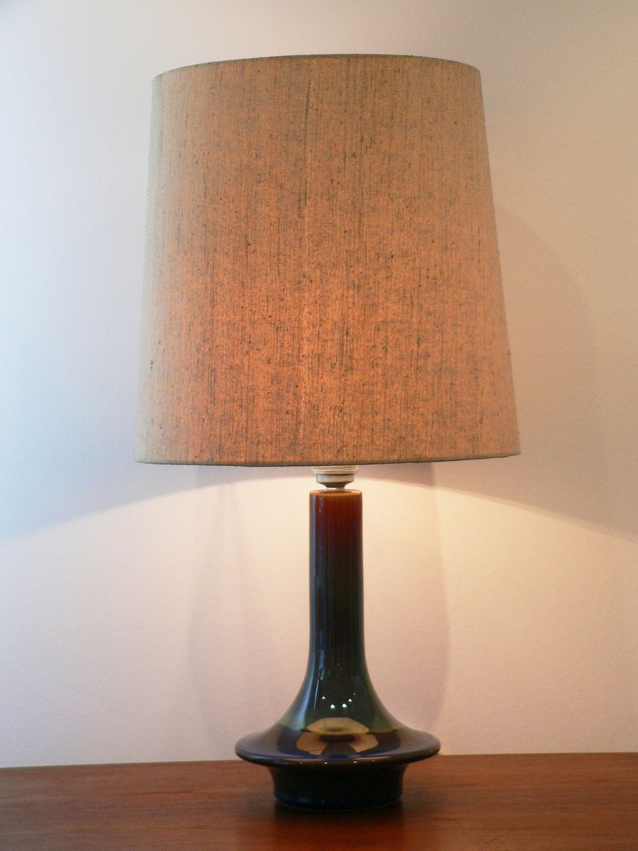 Ceramic Table Lamp from Soholm Stentoj, 1970s for sale at Pamono