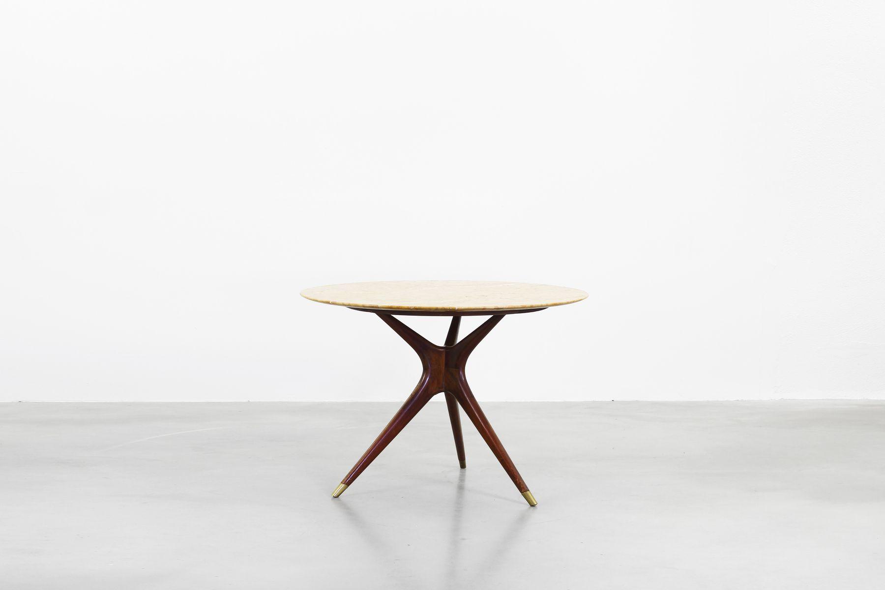 Tavolo da pranzo rotondo di Ico Parisi per Ariberto Colombo, 1949 ...