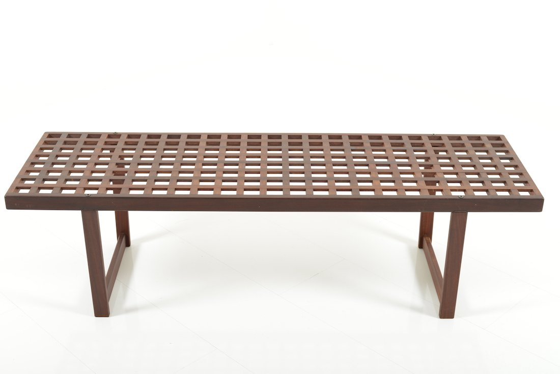 Mid Century Teak Bench 1960s For Sale At Pamono
