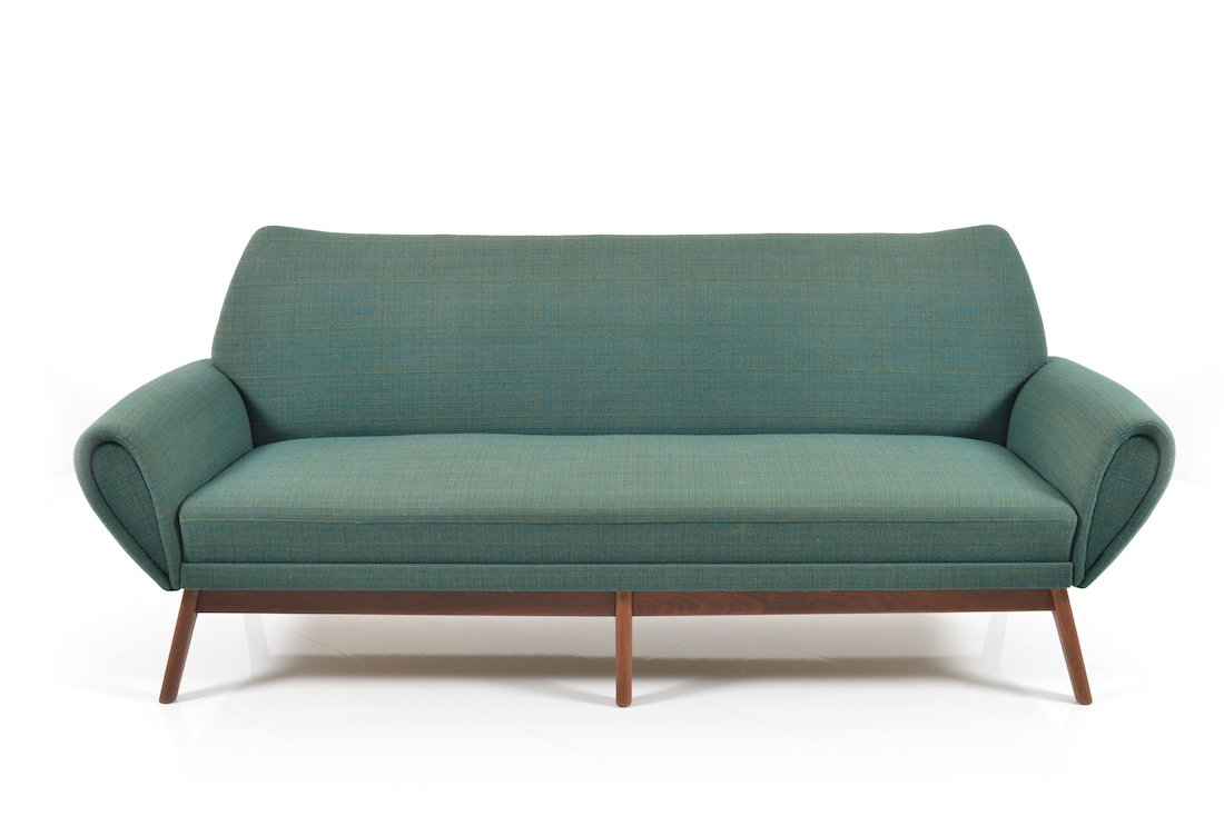 Danish 3 seater sofa by kurt stervig 1960s for sale at for Sofa 8 seater