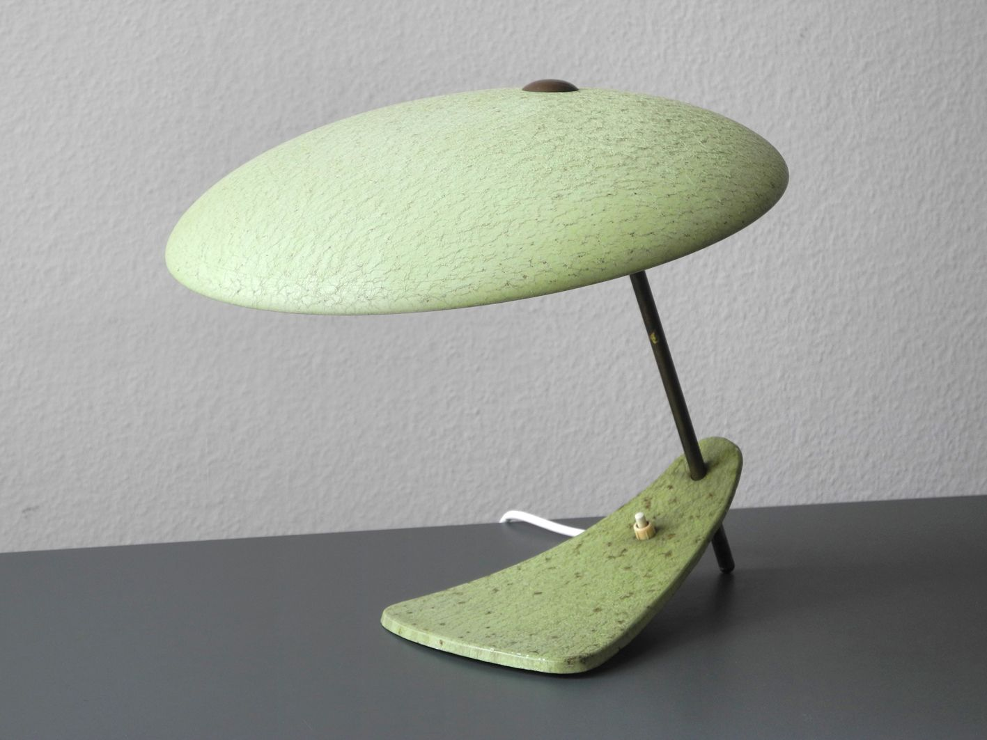 Italian mid century table lamp 1950 for sale at pamono for Z gallerie century table lamp