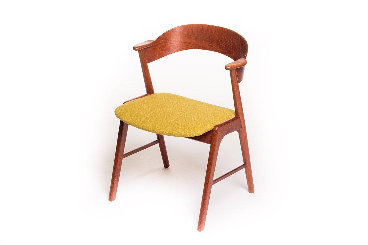 Kidney desk and chair by kai kristiansen for feldballes - Kai kristiansen chair ...