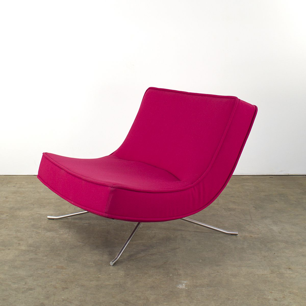 French Pop Easy Lounge Chair and Ottoman by Christian Werner for ...