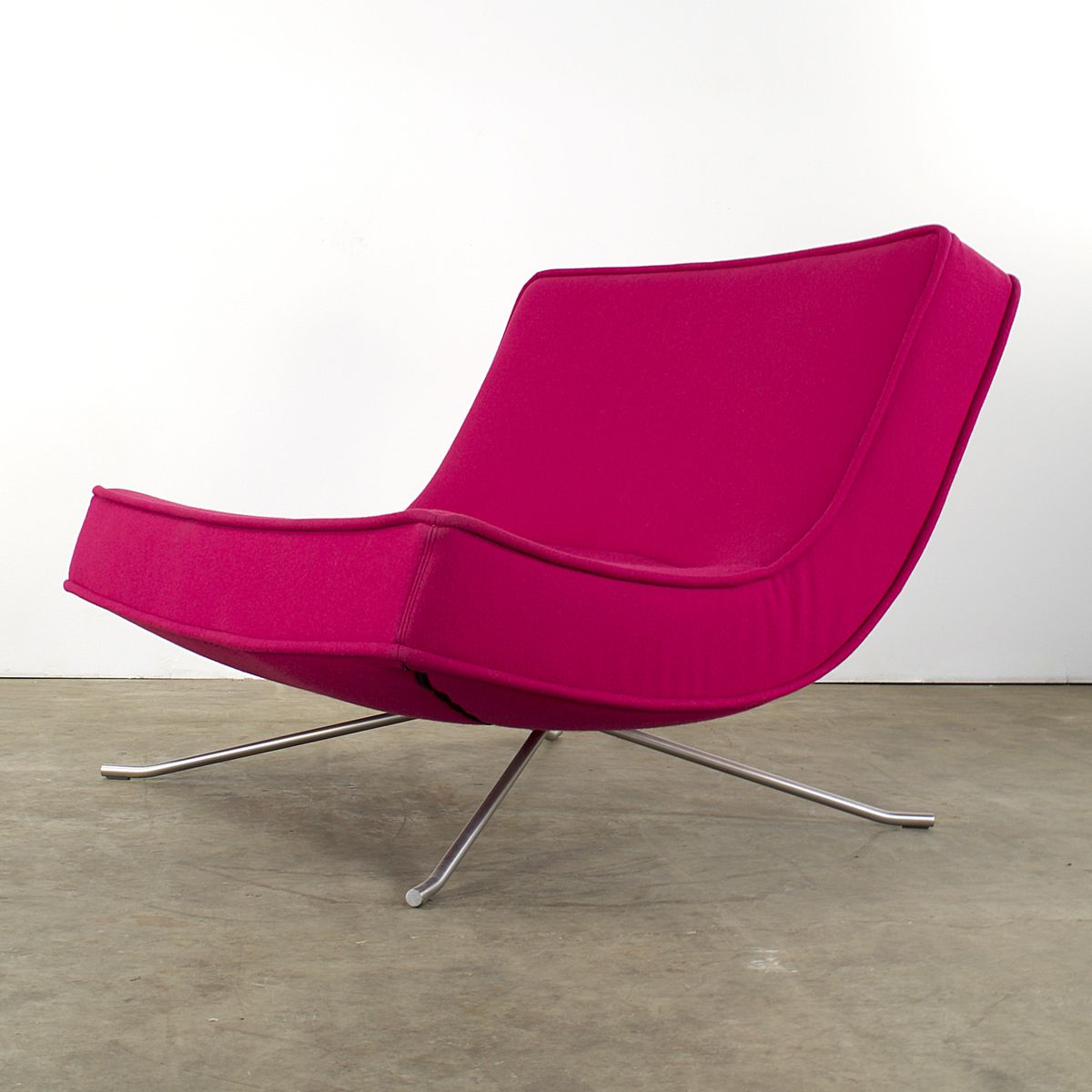 French Pop Easy Lounge Chair and Ottoman by Christian Werner for Ligne Roset