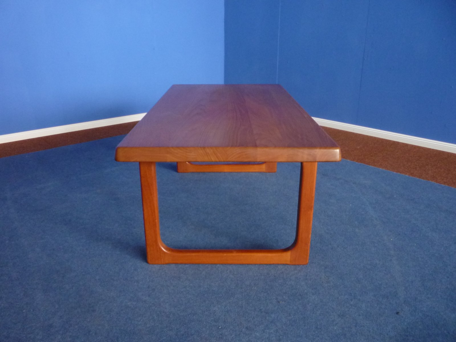 Danish Teak Coffee Table By Niels Bach 1970s For Sale At Pamono