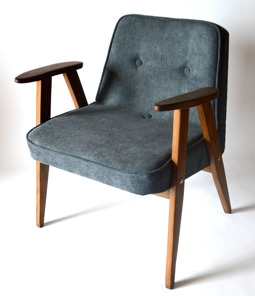 Polish Beech Armchair By J Zef Chierowski For Lower