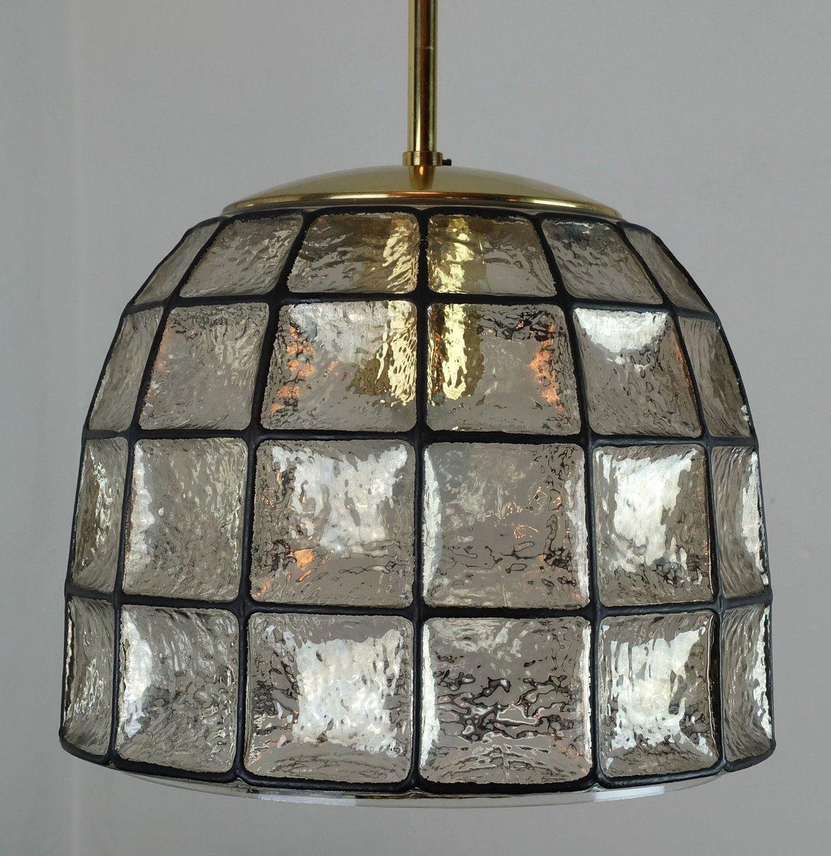 vintage glas h ngelampe von glash tte limburg bei pamono kaufen. Black Bedroom Furniture Sets. Home Design Ideas
