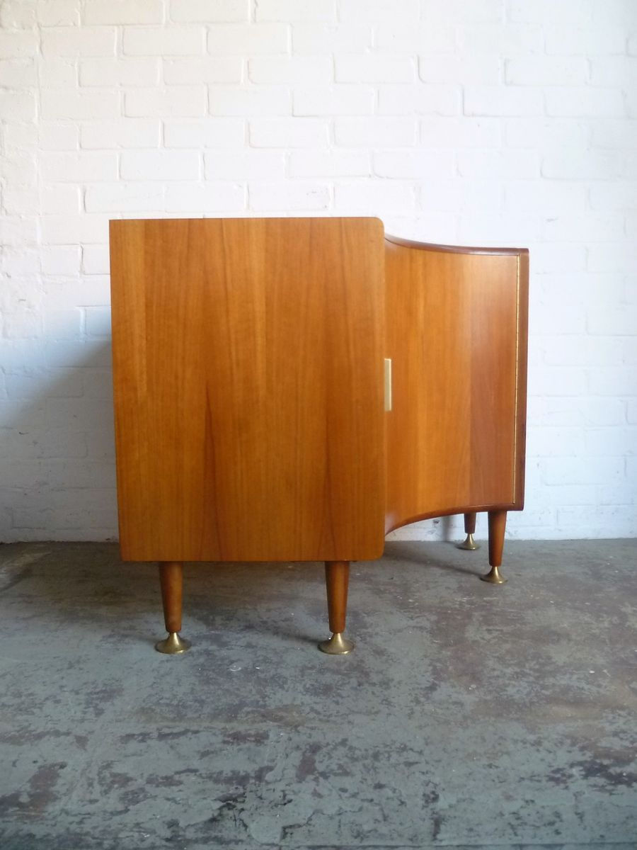 Vintage Corner Cabinet Vintage Corner Cabinet By A Patijn For Zijlstra 1950s For Sale