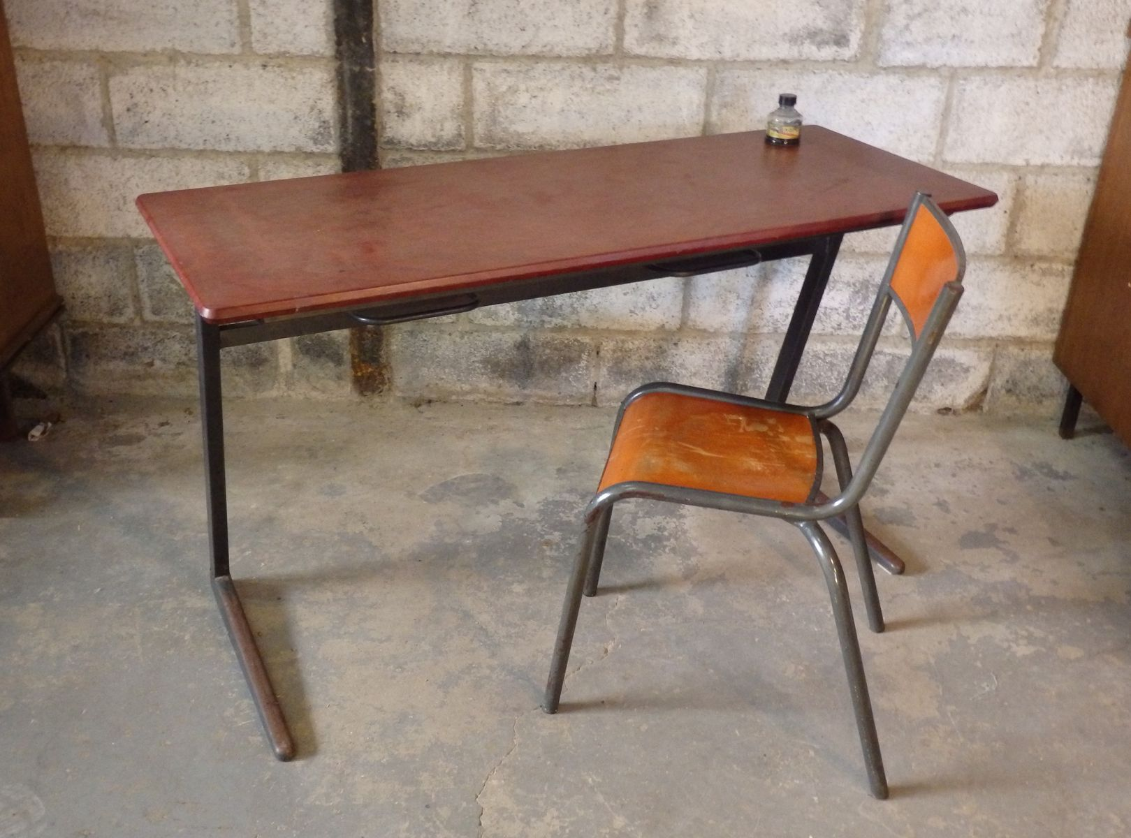 School Desk and Chair Model 510 from Mullca for sale at Pamono