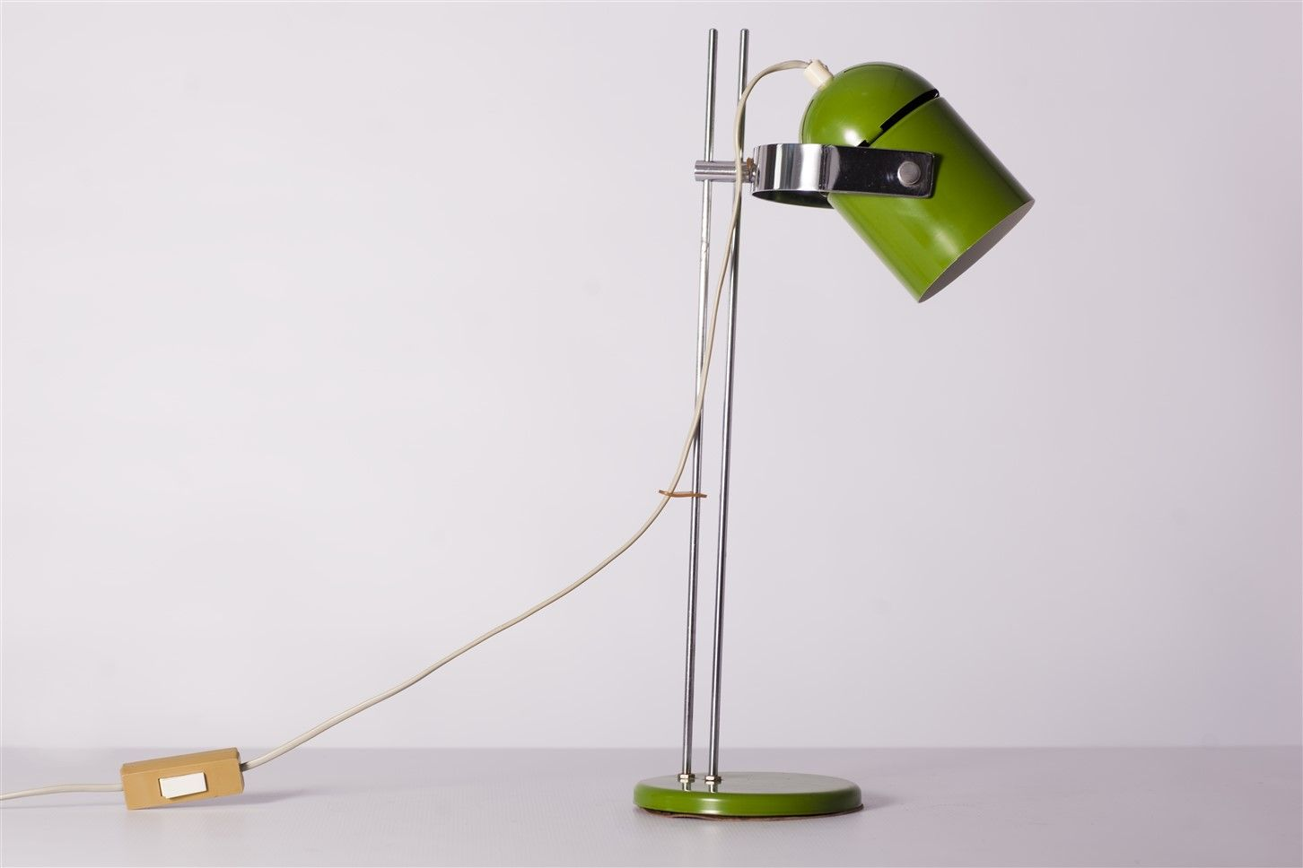 Light green table lamp - Green Table Lamp By Stanislav Indra 1960s