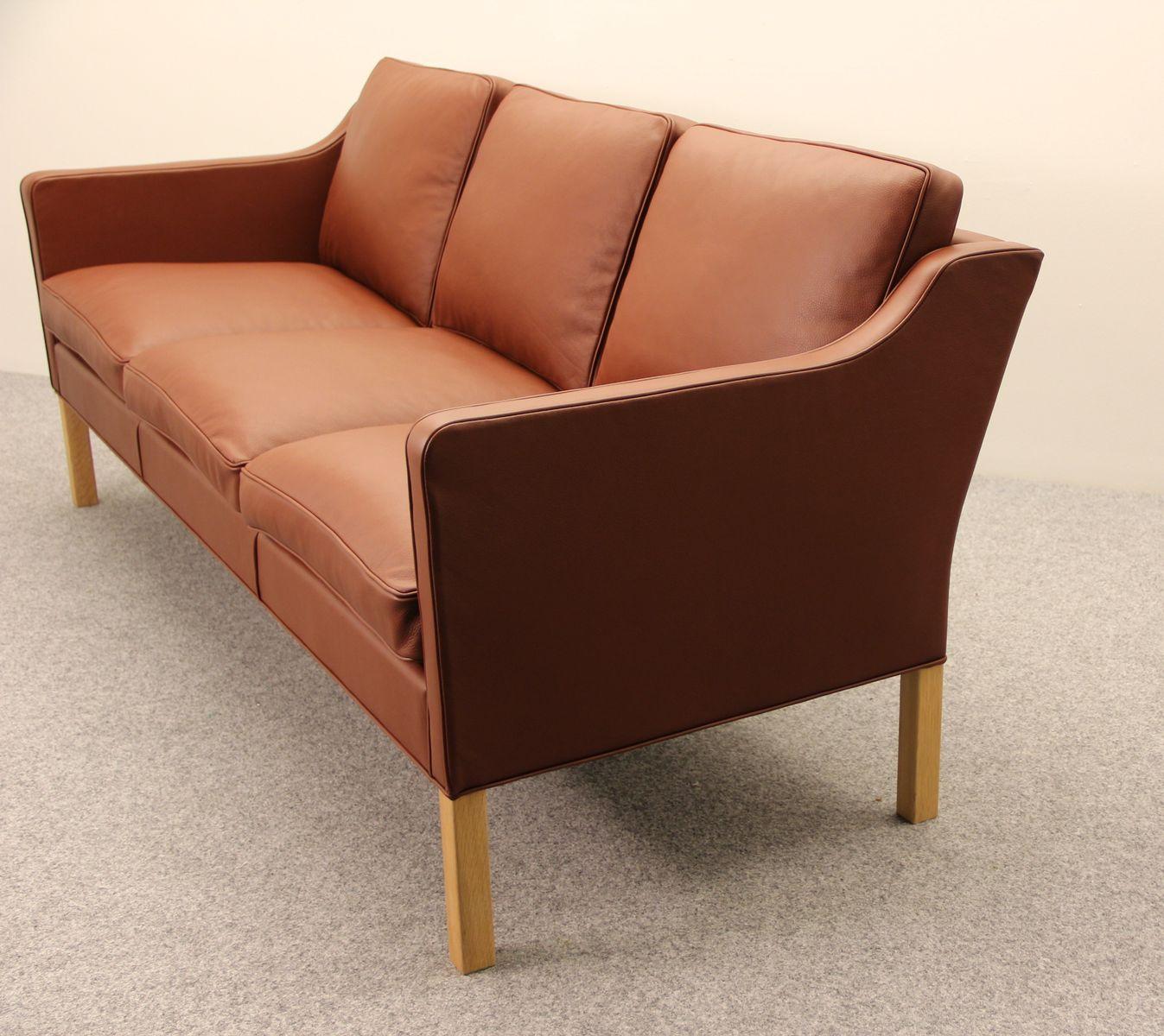 danish model 2323 sofa by b rge mogensen for fredericia. Black Bedroom Furniture Sets. Home Design Ideas