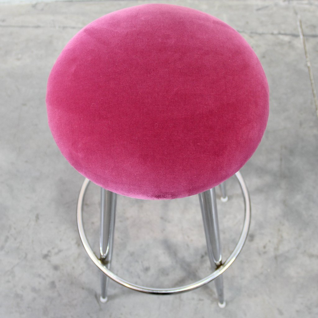 Pink Velvet Stools 1970s Set of 2 for sale at Pamono : pink velvet stools 1970s set of 2 4 from www.pamono.co.uk size 1023 x 1024 jpeg 123kB