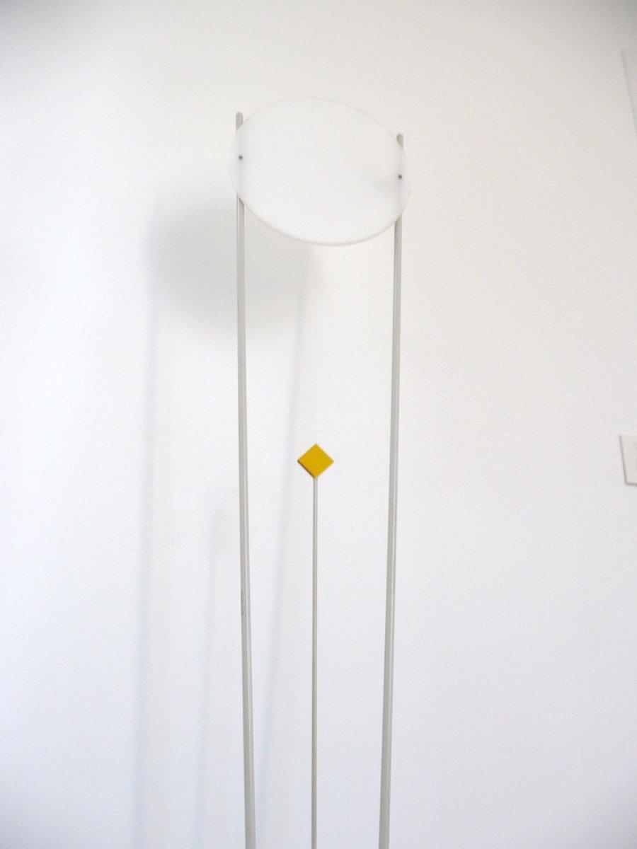 italienische vintage stehlampe aus stahl plexiglas 1970er bei pamono kaufen. Black Bedroom Furniture Sets. Home Design Ideas