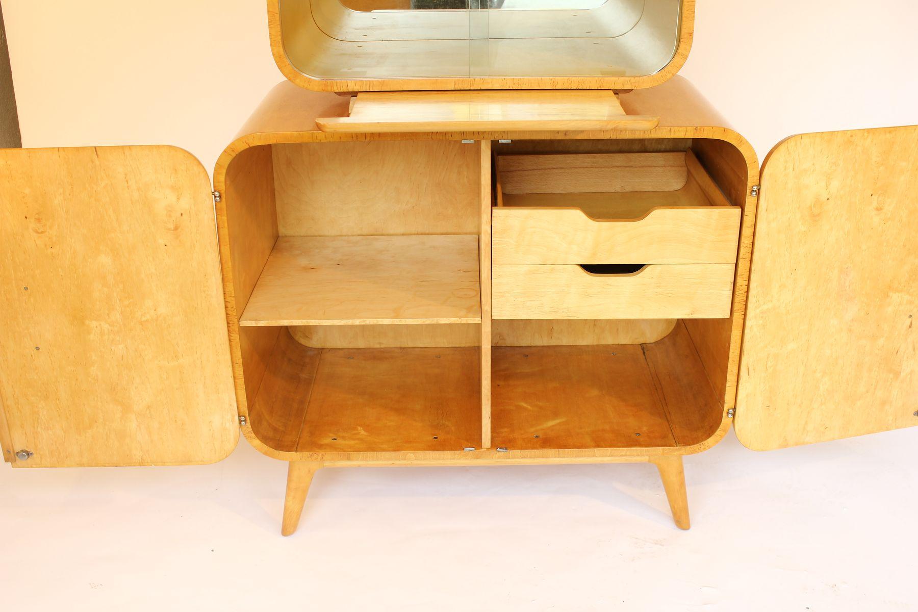 Poplar For Cabinets Poplar Veneer Cabinet By Jindrich Halabala For Up Zavody Brno