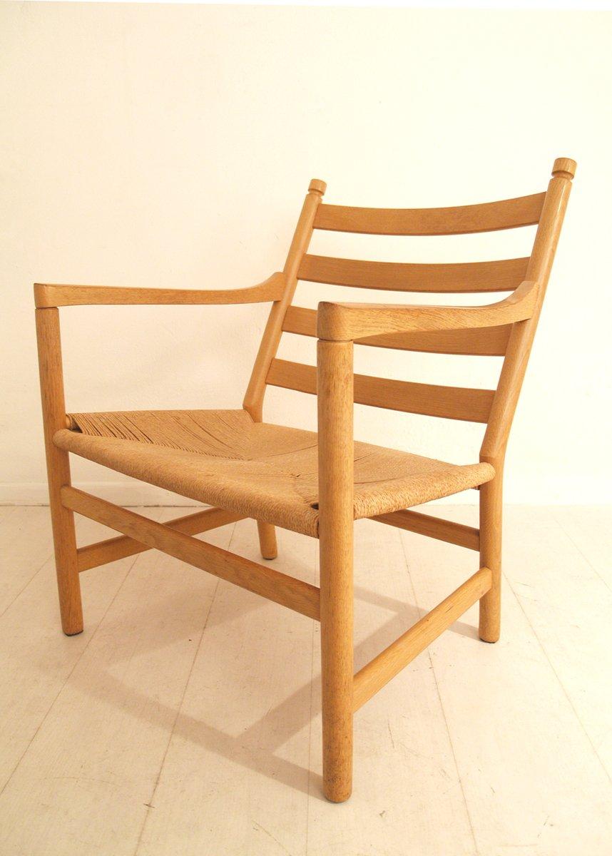 d nischer mid century ch 44 eichenholz stuhl von hans wegner bei pamono kaufen. Black Bedroom Furniture Sets. Home Design Ideas