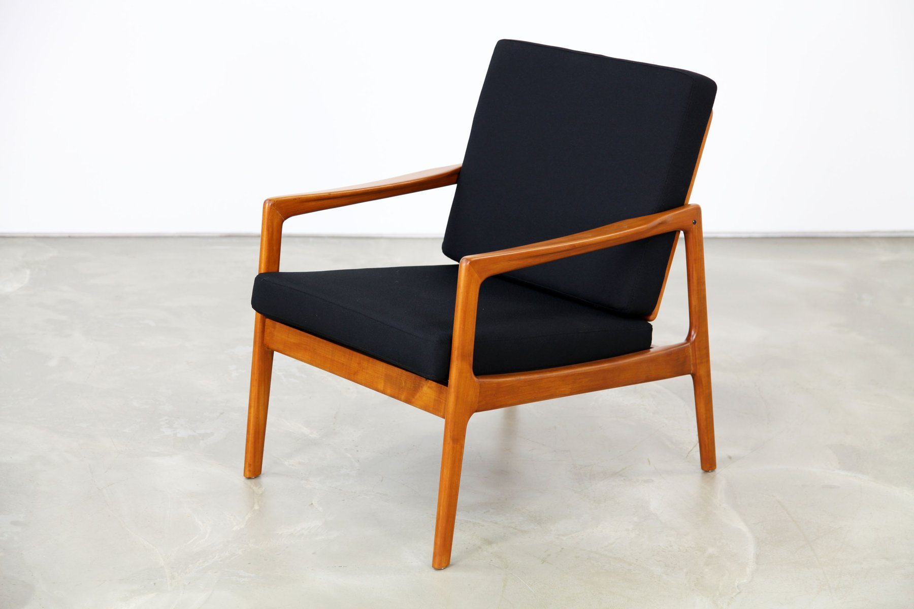 danish modern easy chair 1960s for sale at pamono. Black Bedroom Furniture Sets. Home Design Ideas