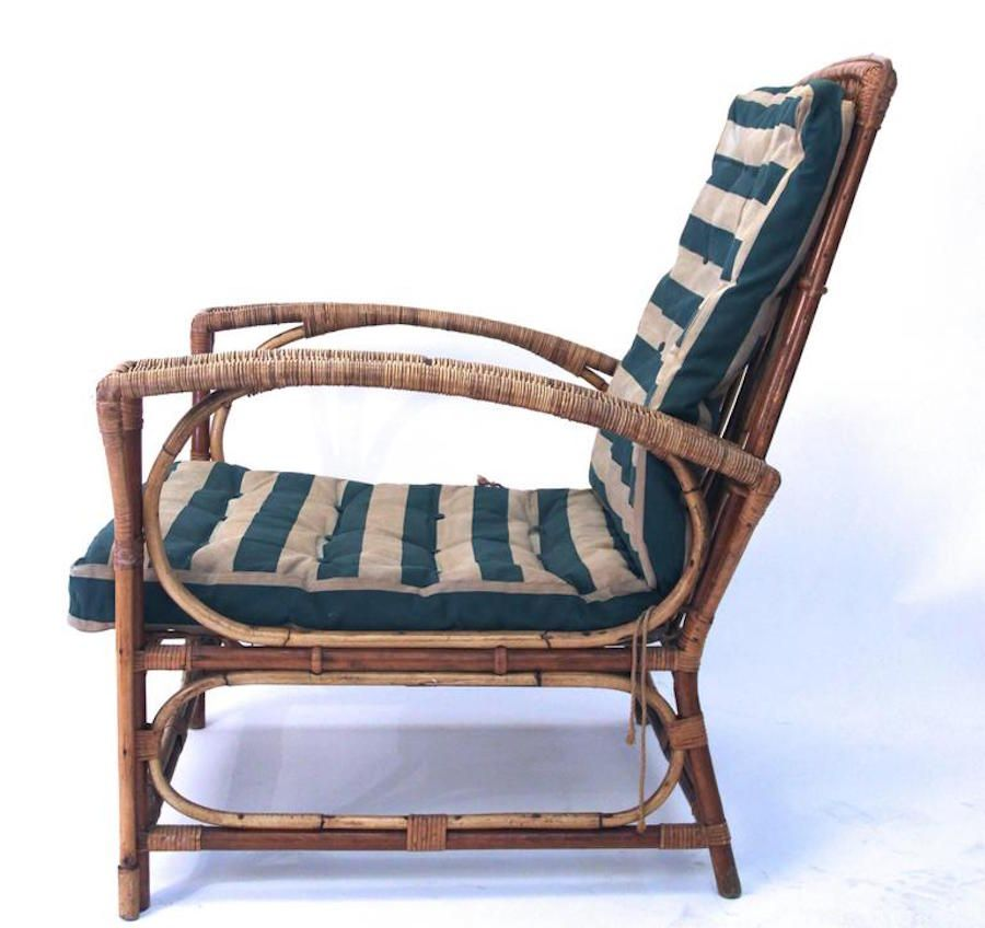 French Rattan Garden Table And Chairs 1960s For Sale At Pamono