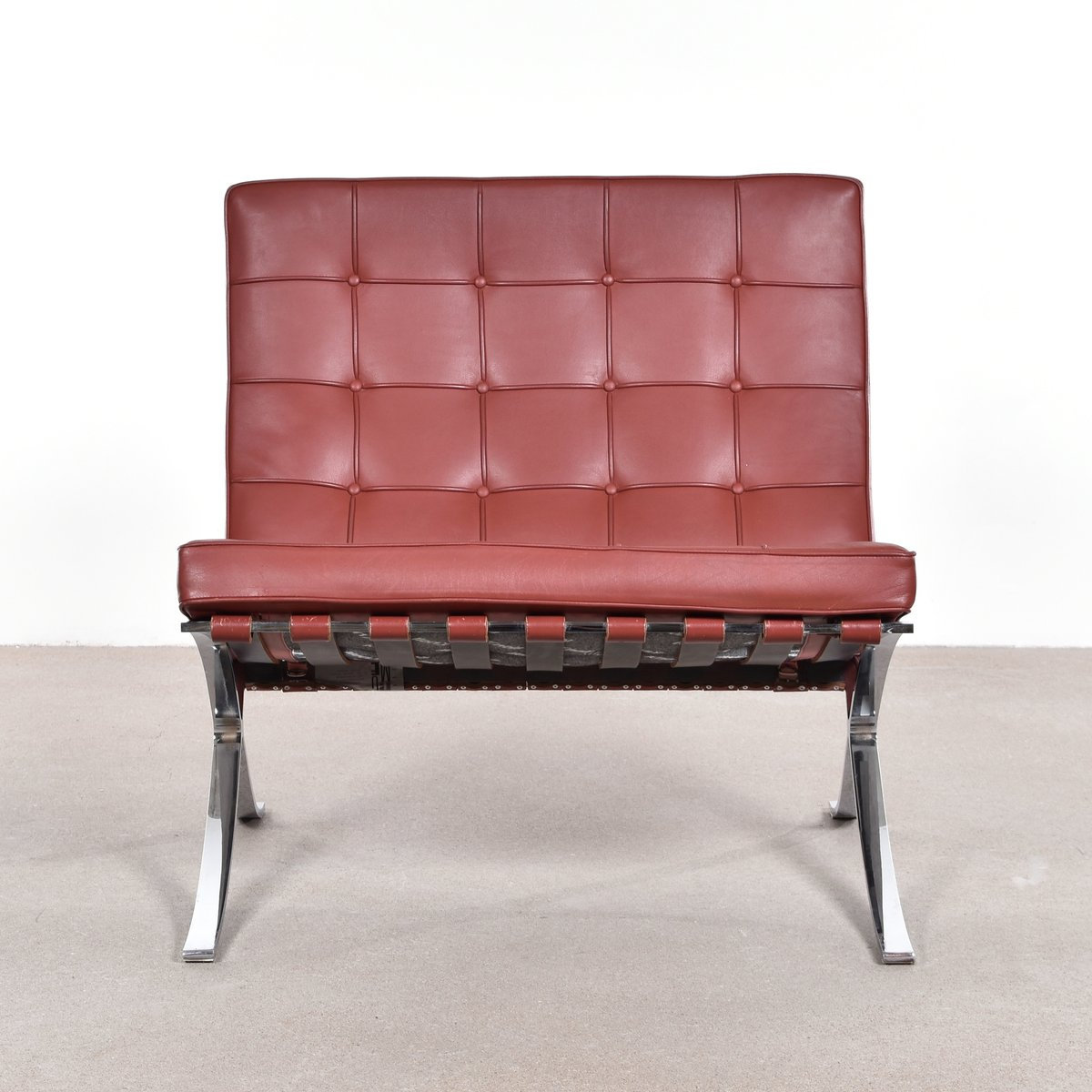 Barcelona Chair By Ludwig Mies Van Der Rohe For Knoll For Sale At Pamono