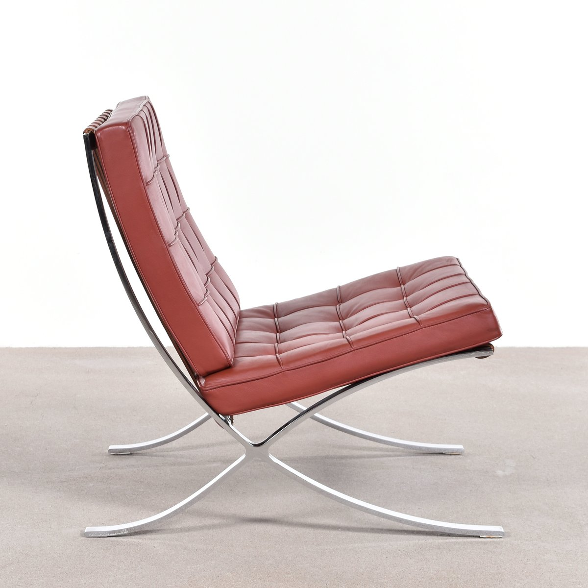 Barcelona Chair by Ludwig Mies van der Rohe for Knoll  sc 1 st  Pamono : mies van der rohe chaise lounge - Sectionals, Sofas & Couches