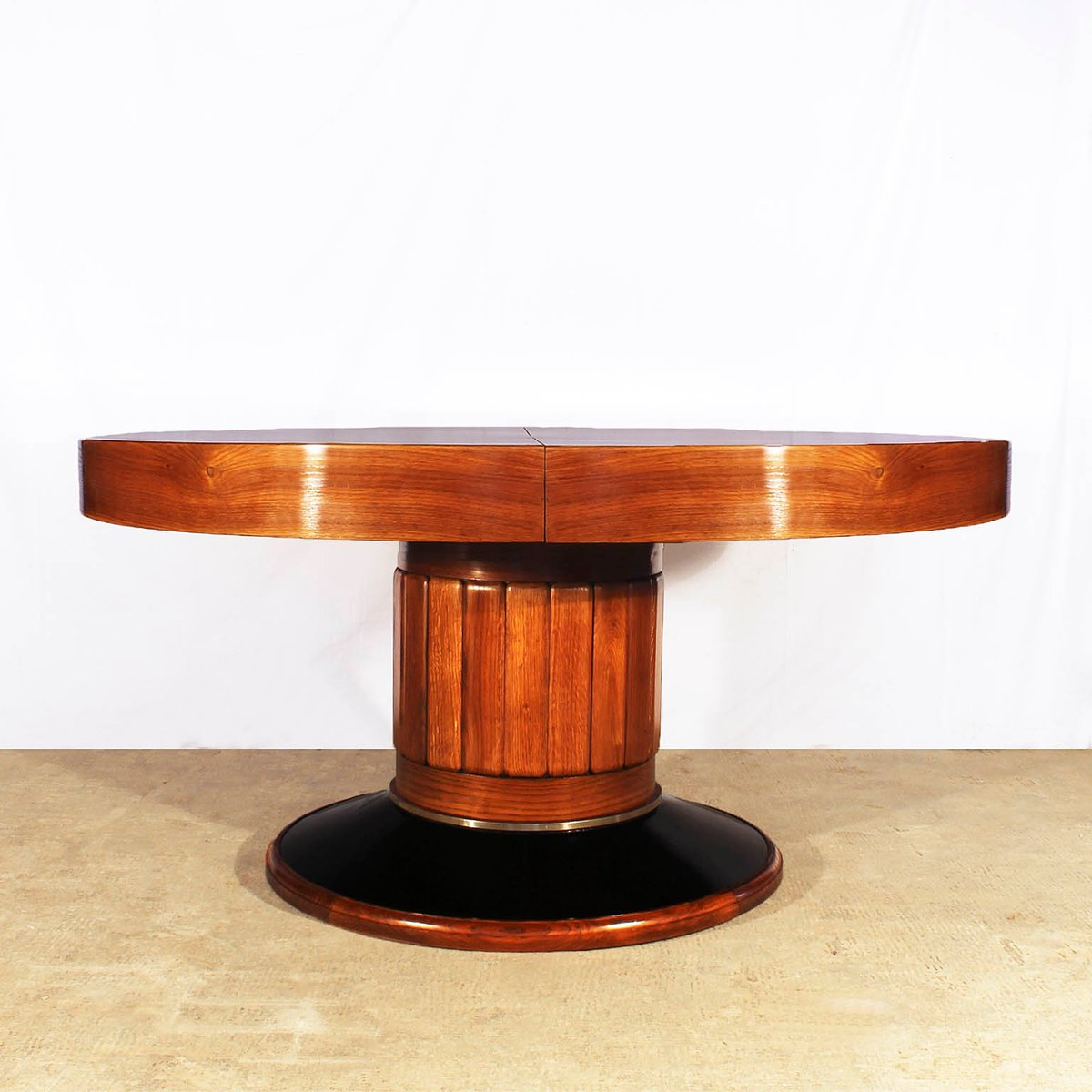 large round spanish art deco table 1930s for sale at pamono. Black Bedroom Furniture Sets. Home Design Ideas
