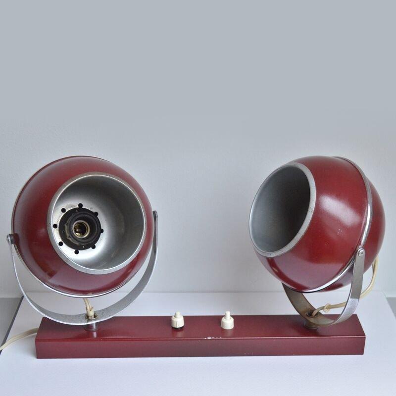 Wall Mounted Globe Lamp : Vintage Globe Shade Wall Lamp for sale at Pamono