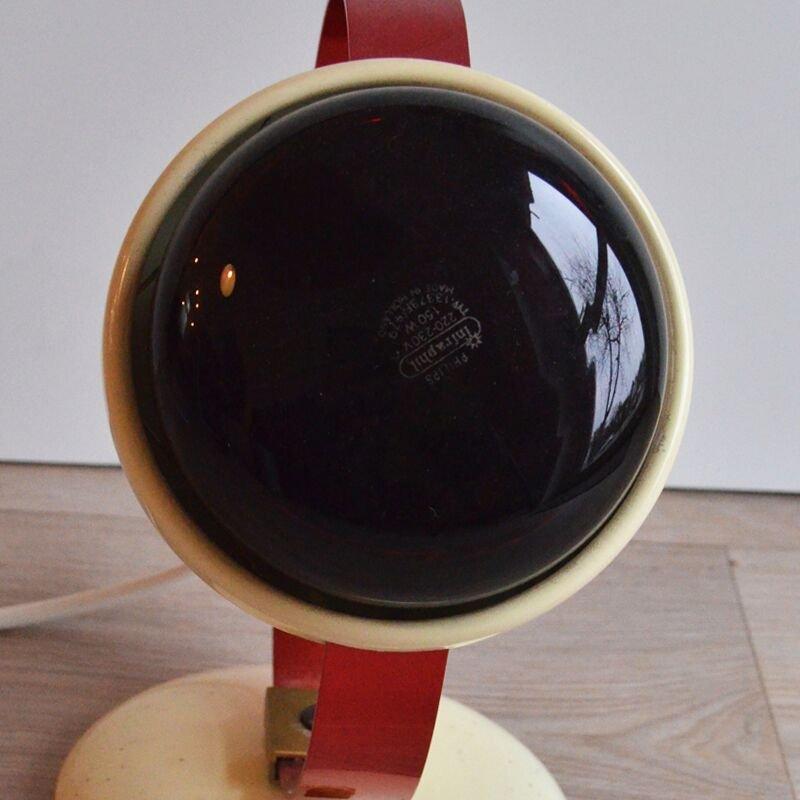 Lampe vintage infraphil par charlotte perriand pour philips en vente sur pamono - Lampe charlotte perriand ...