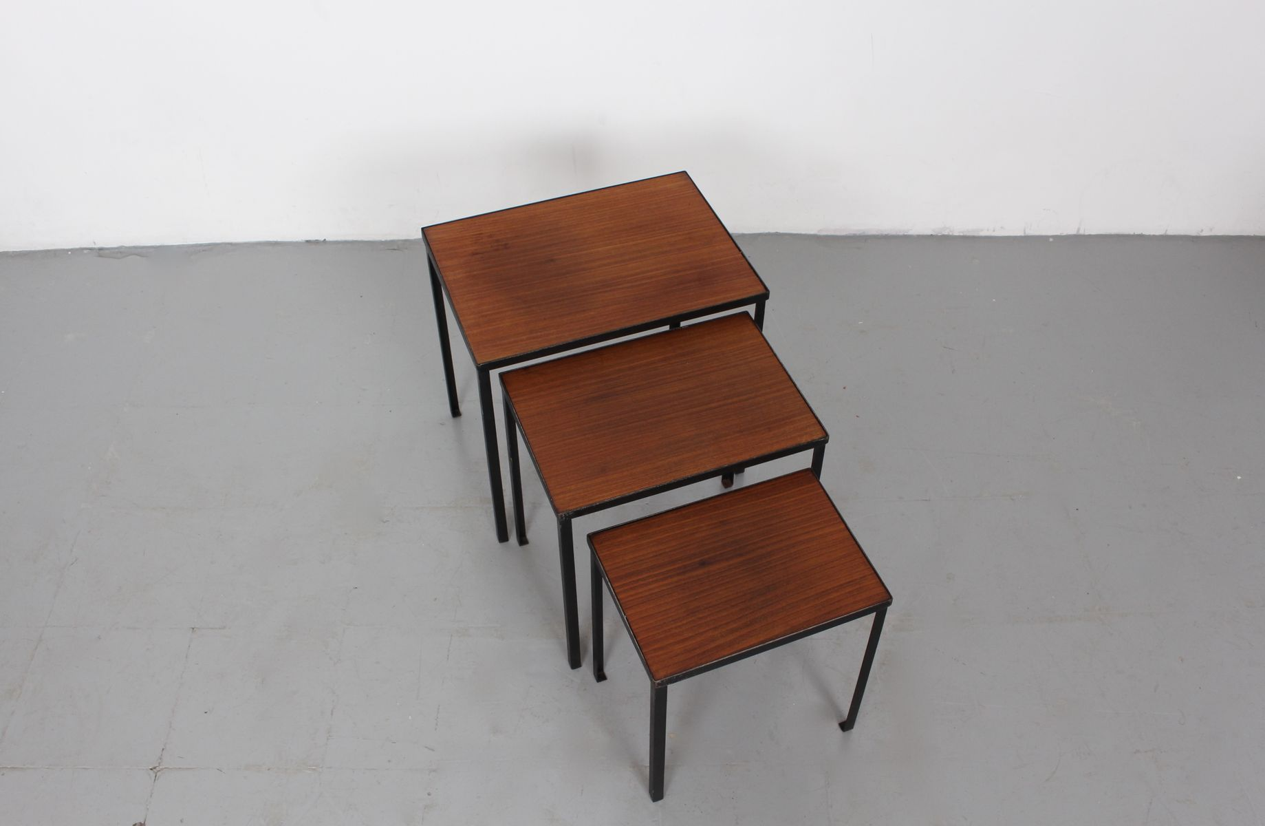 Small Mid Century Nesting Tables From Pastoe For Sale At
