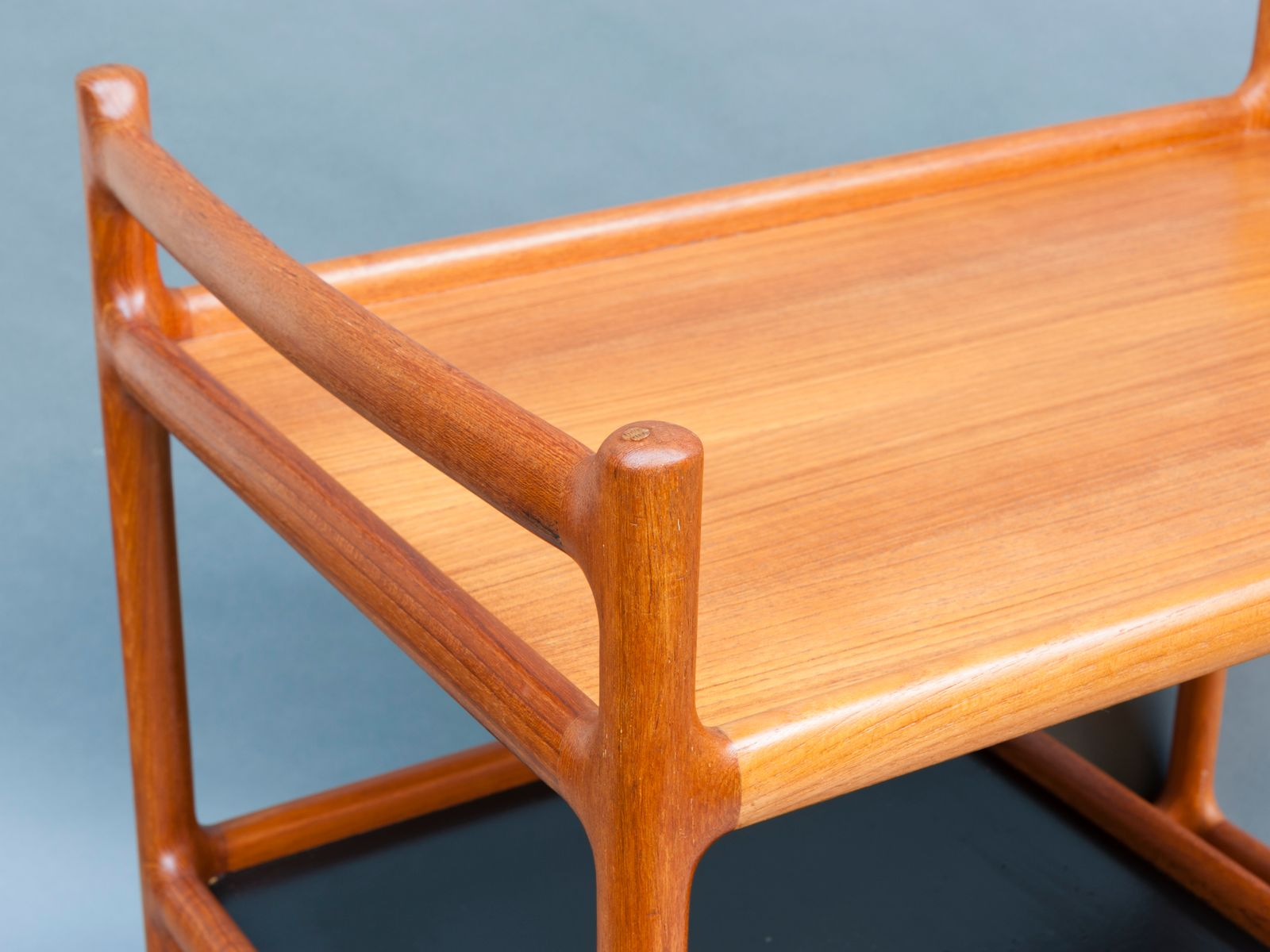 d nischer teak servierwagen von johannes andersen f r cfc silkeborg mobelfabrik 1960er bei. Black Bedroom Furniture Sets. Home Design Ideas