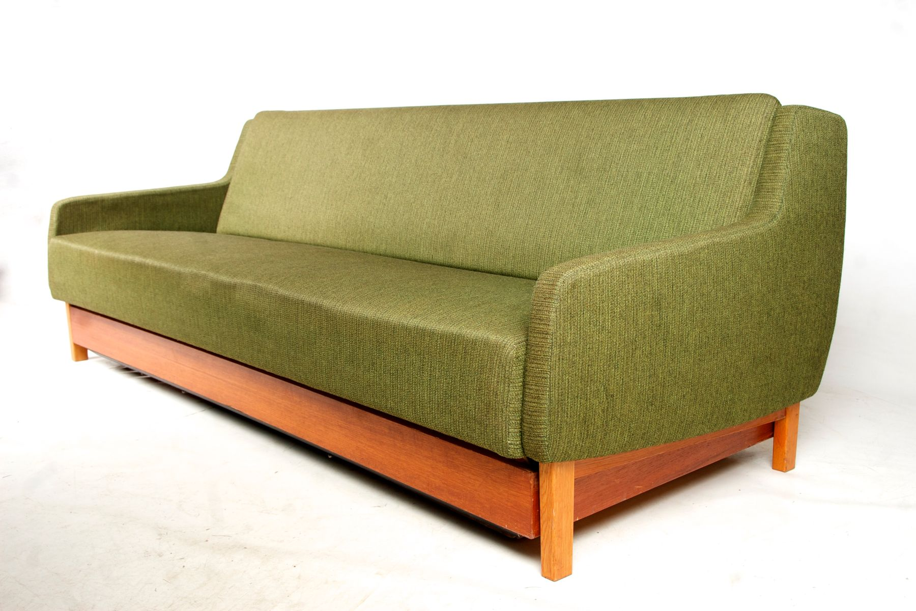 Vintage Danish Sofa Bed from K J Pettersson & Söner 1960s for