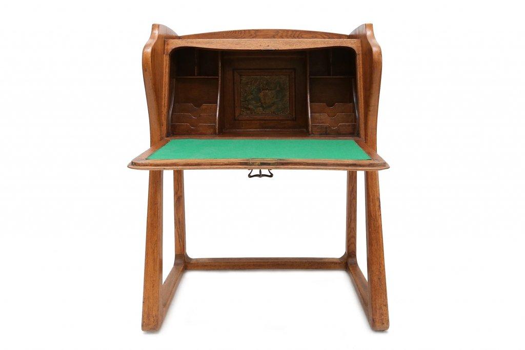 vintage arts crafts secretaire for sale at pamono. Black Bedroom Furniture Sets. Home Design Ideas